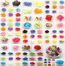 Wholesale Lots Acrylic Spacer Bead Loose Beads Charms Jewelry Making