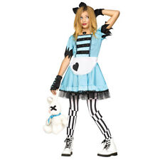 Girls Wild Wonderland Alice Teen Costume