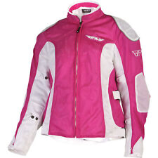 Fly Racing - CoolPro 2 Mesh Ladies Motorcycle Riding Jacket Womens Pink  X-Small