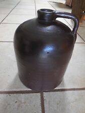 "VINTAGE BEEHIVE STONEWARE CROCK WHISKEY MOONSHINE BROWN 10"" JUG GALLON BOTTLE"