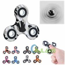 New Camo Fidget Hand Spinner Finger EDC Focus Stress Reliever Toys For Kid Adult