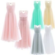 Flower Girl Kids Princess Special Occasion Birthday Party Wedding Pageant Dress