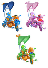 THREE WHEEL BIKE TRICYCLE SCOOTER BABY CHILD TIGER INFANT TRIKE PARENT HANDLE