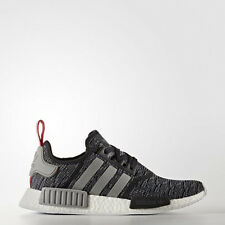 New Adidas NMD R1 Core Black Grey Red Glitch Camo Pack Nomad  BB2884  US4 TO US9