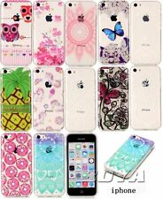 For iPhone Ultra slim soft TPU phone case protective skin pattern silicone Gel