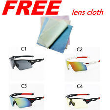 Cycling Bike Goggles Eyewear Outdoor Sports Fishing Glasses Sunglasses UV400