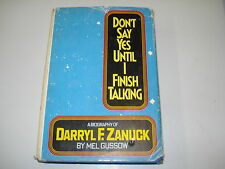 Dont Say Yes Until I Finish Talking by Mel Gussow, Mel Gussow, Do