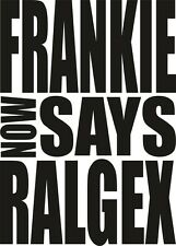 FRANKIE now SAYS RALGEX Funny Fathers Day Gift Present Summer Beach Top T Shirt