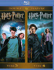 Harry Potter Double Feature Year 3 & 4 (Blu-Ray) NEW **Free Shipping**