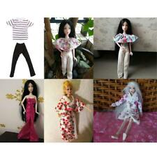 Stylish Handmade Comfortable Doll Clothes Outfit for Barbie/Ken Easy to Wear