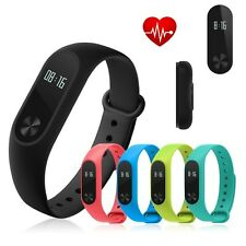 Smart Watch Mi 2 Wristband Strap Heart Rate Monitor Time Counter Fitness Touch