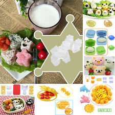 Boiled Egg Sushi Rice Mold Bento Maker Sandwich Cutter Decorating AB