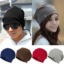 Hot Men Ladies Winter Ski Slouch Knitted Baggy Hip Hop Hat Cap Warm Beanie 105