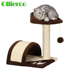 Ollieroo Cat Tree Sisal Scratching Post Pet Bed Kitten Toy Cat Tower