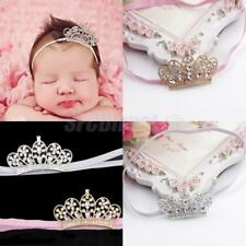 Toddler Baby Girl Crystal Crown Headband Newborn Cute Hairband Toddler Headband