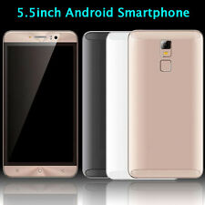 """5.5"""" Unlocked Quad Core Android5.1 Smartphone IPS GSM GPS 3G Cell Phone Dual SIM"""