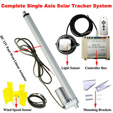 1KW Solar Panel Tracking Tracker +Linear Actuator +Controller +Wind Speed Sensor