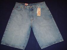 Mens Levis 569 Straight Leg, Light Wash Shorts Nwt