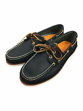 Timberland Mens CLS2I Lace Up Boat Shoes in Navy Blue