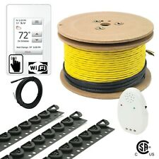 240V UWG4 Electrical Radiant Warming Floor Heating Cable System Kits