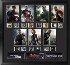 Marvel's Avengers Age of Ultron Characters Film Cell Montage Series 1
