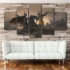 Framed Home Decor Canvas Print Painting Wall Art Game of Thrones Poster