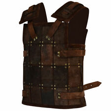 Viking Fighter Armor, Small, Brown Armor, Soldier, Medieval, LARP,Cosplay