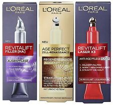 Loreal Eye Care Ever 15ml to choose ✨Revitalift✨ Laser X3 ✨ Age Perfect