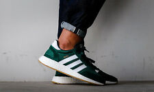 NEW ADIDAS INIKI BOOST RUNNER COLLEGIATE GREEN WHITE GUM SOLE   BY9726 LIMITED