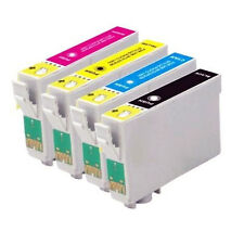 1 FULL SET of cartridges (4 INKS) compatible with T711-714 [not EPSON original]