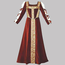 Lady's Dress, Reenactment,LARP, S, M, L, XL, Velvet, Fantasy, Theater