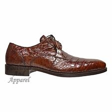 Mezlan Men's Anderson Crocodile Oxford Shoe Sport Brown