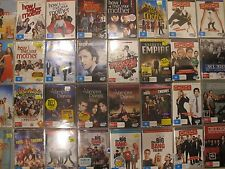 New and Used TV SHOW DVDs - SOLD IN BUNDLES - Region 4 - NOT Ex Rentals