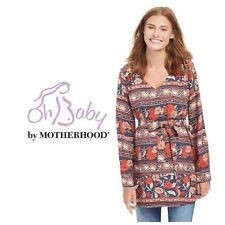 Oh Baby by Motherhood Maternity V-Neck Tunic S M L NWT