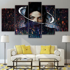 Framed Home Decor Canvas Print Painting Wall Art Michael Jackson Artist Poster