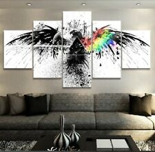 Framed Home Decor Canvas Print Painting Wall Art Pink Floyd The Eagle Rock Sign
