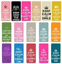 Keep Calm Flip Case Cover for Apple iPhone 4 4s 5 5s 6 Plus - 05