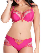 figleaves curve Womens Sunset Embroidery 3/4 Cup Bra