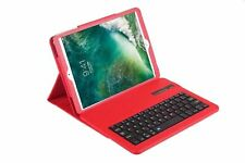 Wireless Bluetooth Keyboard Leather Cover Case Stand for Apple iPad 10.5""