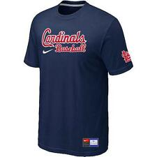 "Mens St. Louis Cardinals Baseball Official MLB Nike T-shirt ""10 COLORS"" ""New"""