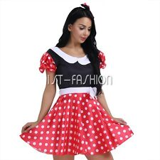 HALLOWEEN COSPALY Birthday Party Women Minnie Mickey Mouse Costume Fancy Dress