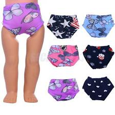 Doll Printed Underwear for 18'' American Girl Journey Doll Clothes Accessories