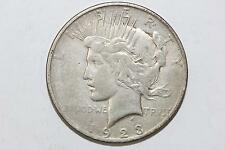 1923 D Peace Silver Dollar Denver Nice Condition Coin! 90% Silver US Coin
