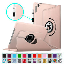 For Apple iPad 360 Rotating Smart Leather Case Stand Cover with Auto Wake/Sleep