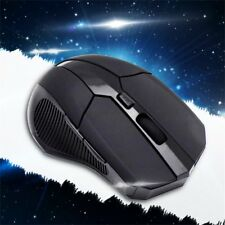 2.4 GHz Wireless Optical Mouse Mice + USB 2.0 Receiver for PC Laptop Black  CN A
