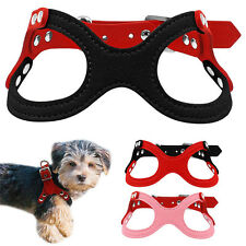 Small Chihuahua Dog Harness Vest Pet Puppy Cat Collar for yorkie maltese XXS/XS