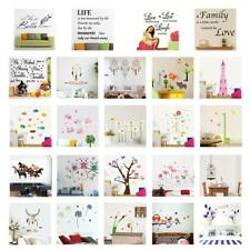 DIY Removable Art PVC Wall Sticker Decal Mural Quote Word Poem Home Room Decor