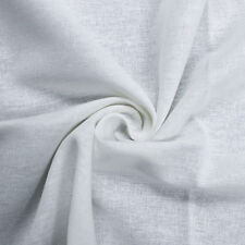 """Solid Color 54"""" Cotton Linen Fabric by the Yard or Sample Swatch"""