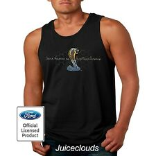 Ford Tank Top Mustang Cobra Ford Motor Company Shelby GT500 Men's Muscle Shirt