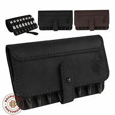 Hunting Leather Rifle Ammo Shell Holder 7.62 caliber Cartridge Belt Case Pouch